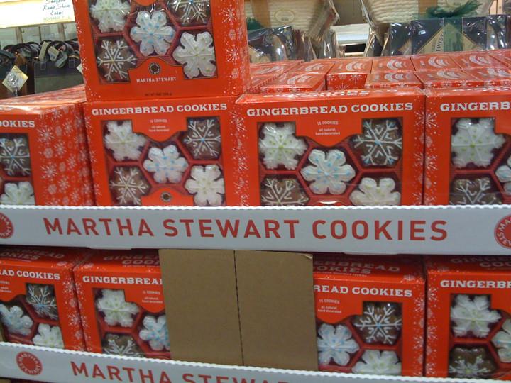 Costco Christmas Cookies  martha stewar snowflake 2 cookies costco