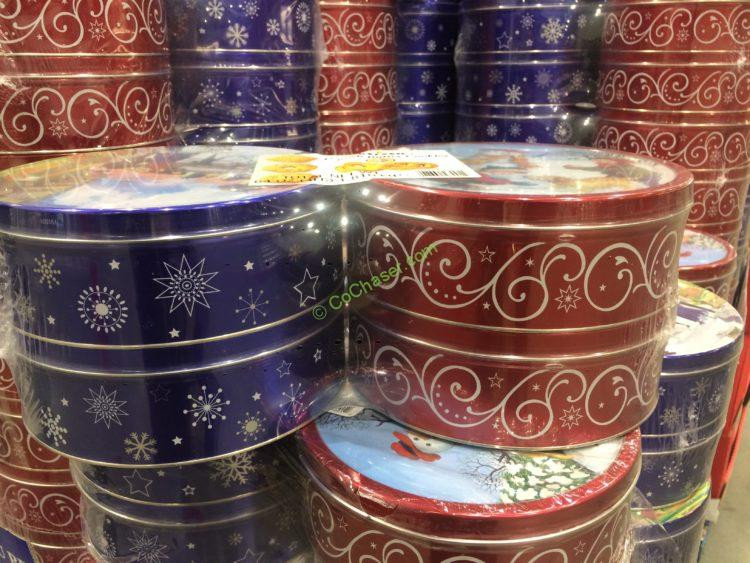 Costco Christmas Cookies  Kelsen Imported Danish Butter Cookies 4 1 Pound Tins