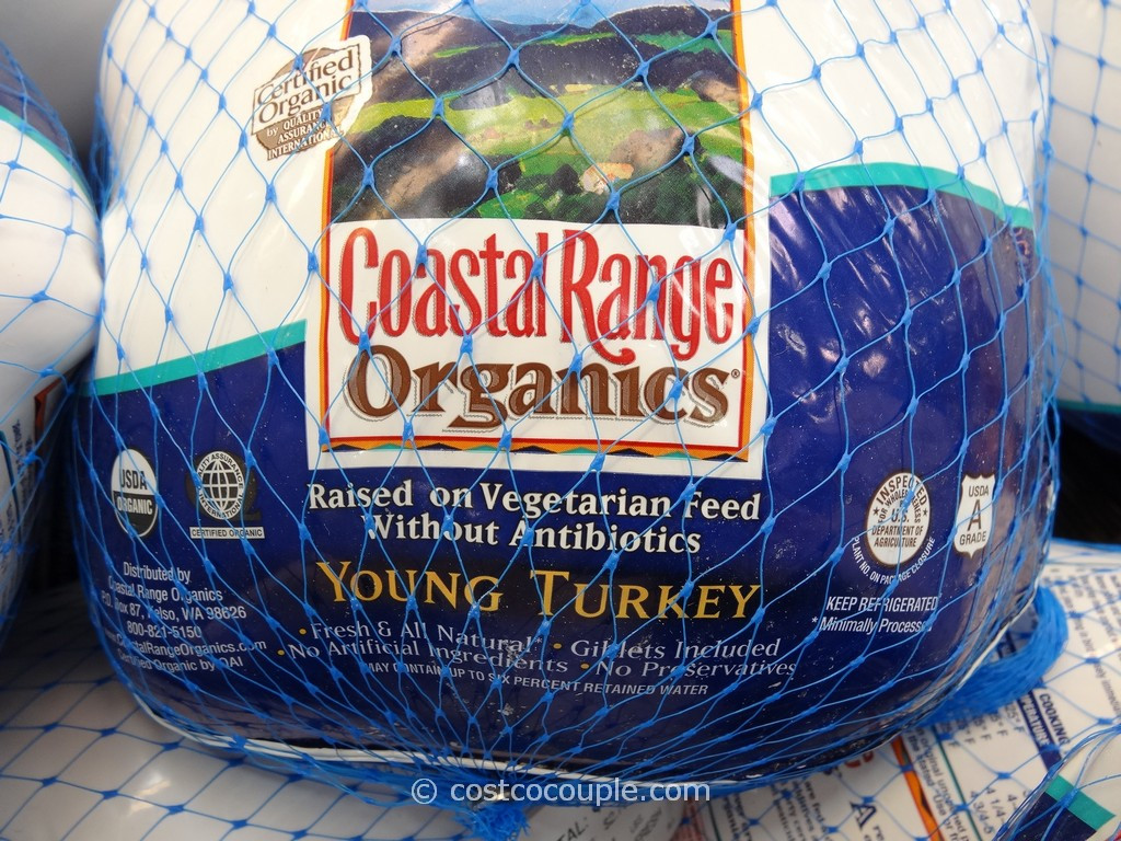 Costco Fresh Turkey For Thanksgiving  Coastal Range Organics Young Turkey