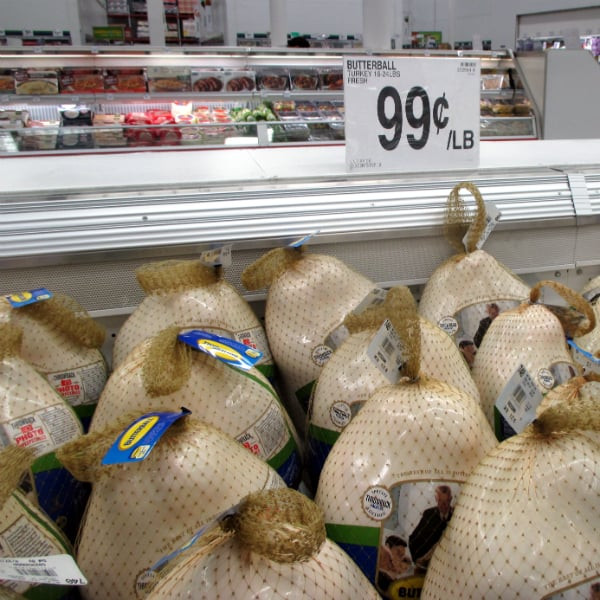 Costco Fresh Turkey For Thanksgiving  Sam s Club Turkey Prices 2015 Eat Like No e Else
