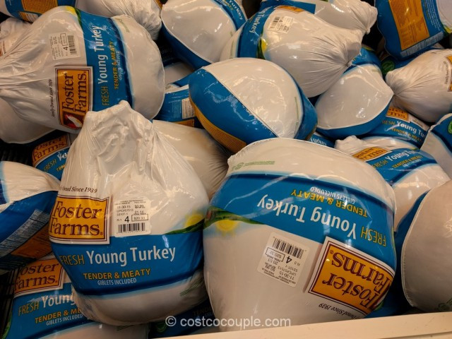 Costco Fresh Turkey For Thanksgiving  Foster Farms Fresh Young Turkey