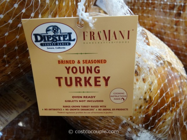 Costco Fresh Turkey For Thanksgiving  Fra'mani Diestel Whole Brined And Seasoned Turkey