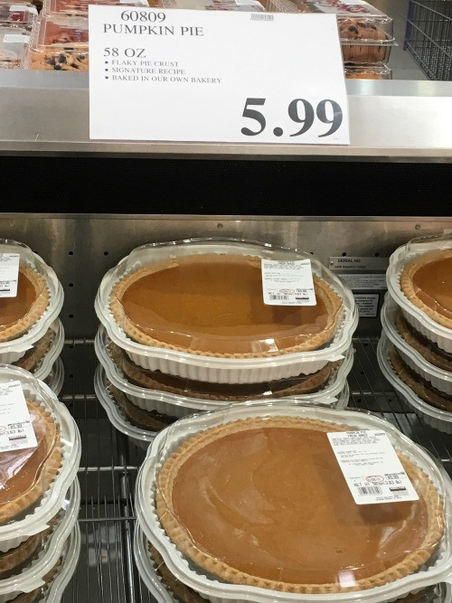 Costco Pies Thanksgiving  Guide to Costco Thanksgiving Prices Natural Green Mom