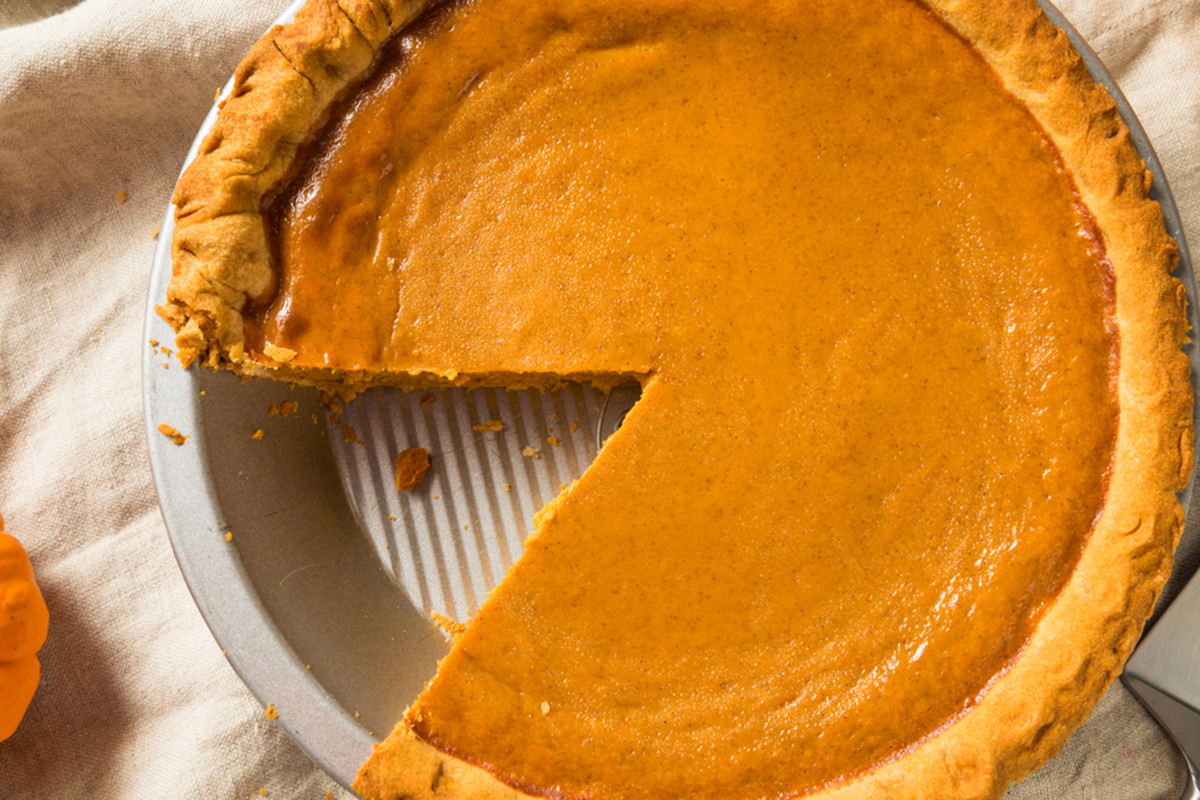 Costco Pies Thanksgiving  The Costco Pumpkin Pie Is All You Need This Thanksgiving