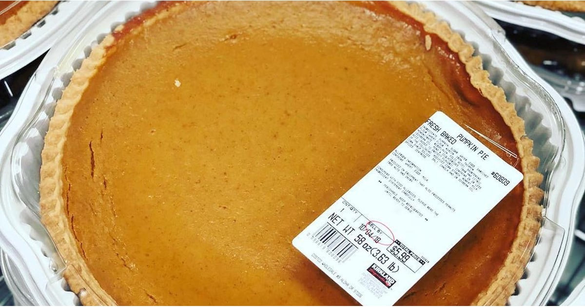 Costco Pies Thanksgiving  Costco Pumpkin Pie