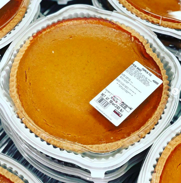 Costco Pies Thanksgiving  Did You Know Costco Sells A Giant Pumpkin Pie For ly $6