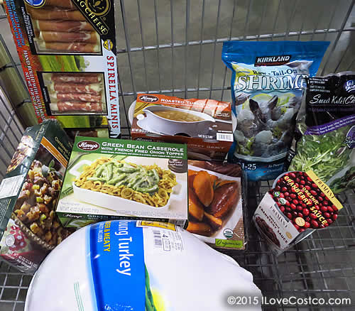 Costco Thanksgiving Dinner 2019  Costco Shopping for Thanksgiving Dinner IloveCostco