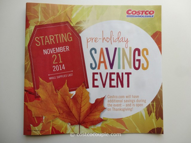 Costco Thanksgiving Dinner 2019  Costco 2014 Thanksgiving Savings Book