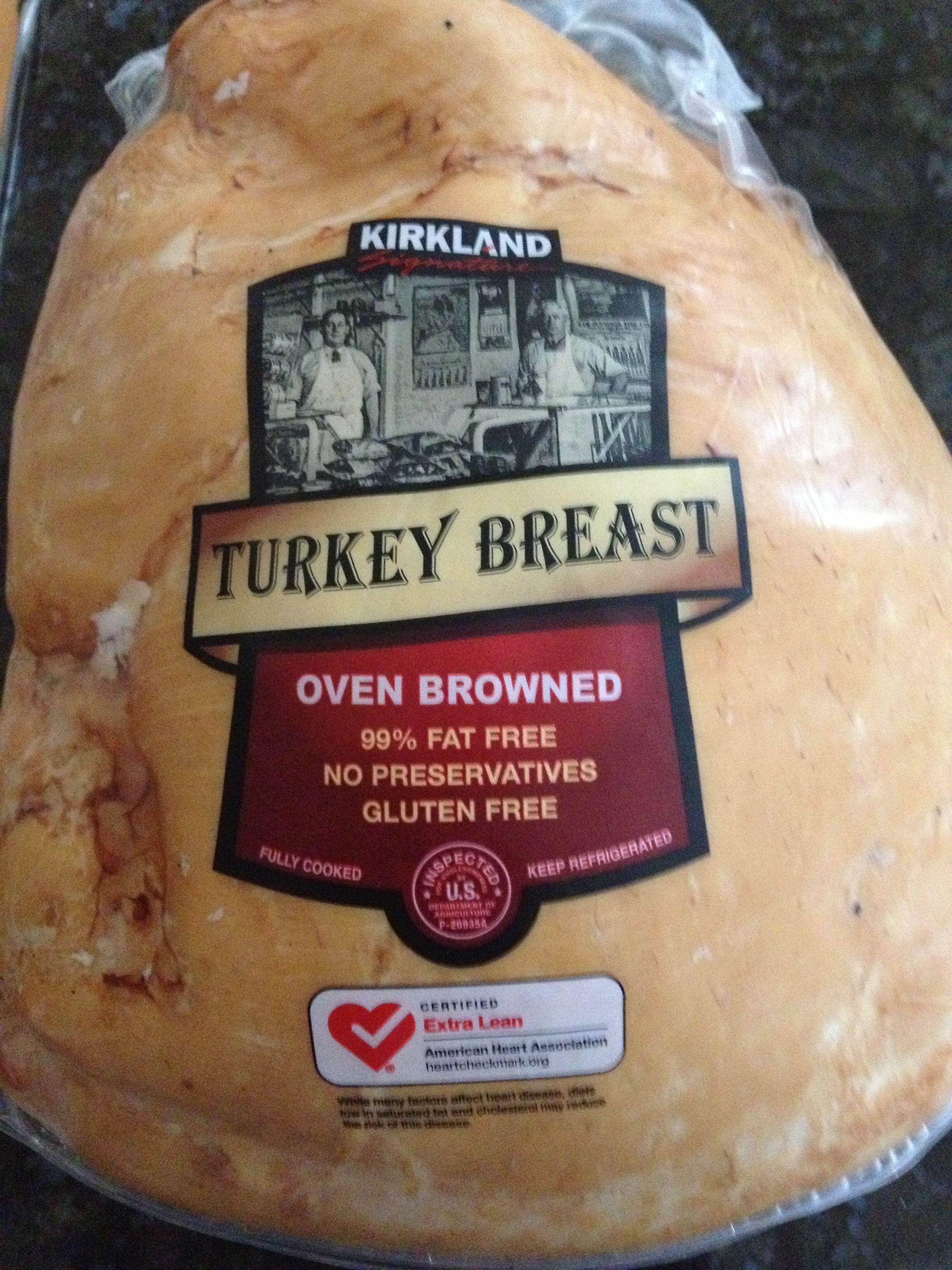 Costco Thanksgiving Dinner 2019  Kirkland Turkey Breast Nitrate Free GF 290mg sodium