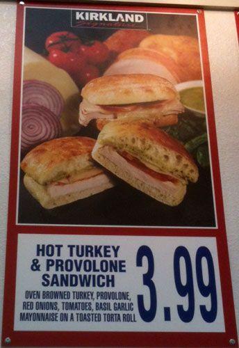 Costco Thanksgiving Dinner 2019  Costco s Hot Turkey & Provolone Sandwich 730 calories