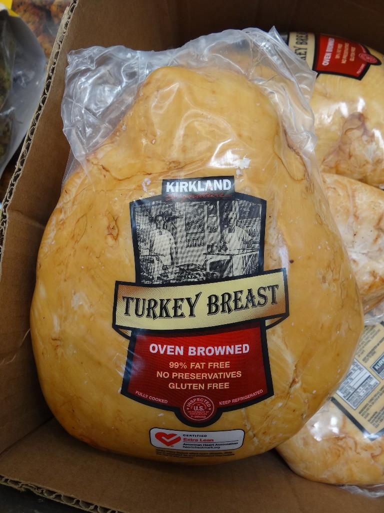 Costco Thanksgiving Turkey  Kirkland Signature Oven Browned Turkey Breast