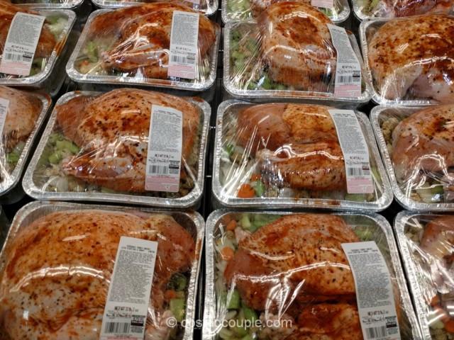 Costco Thanksgiving Turkey  Seasoned Turkey Breast With Stuffing and Gravy