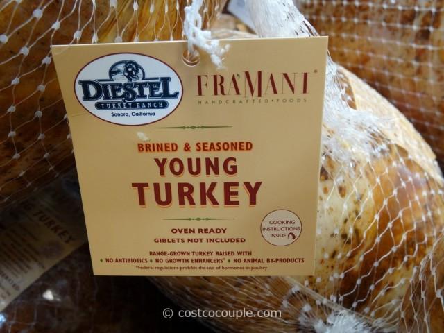 Costco Thanksgiving Turkey  Fra'mani Diestel Whole Brined And Seasoned Turkey