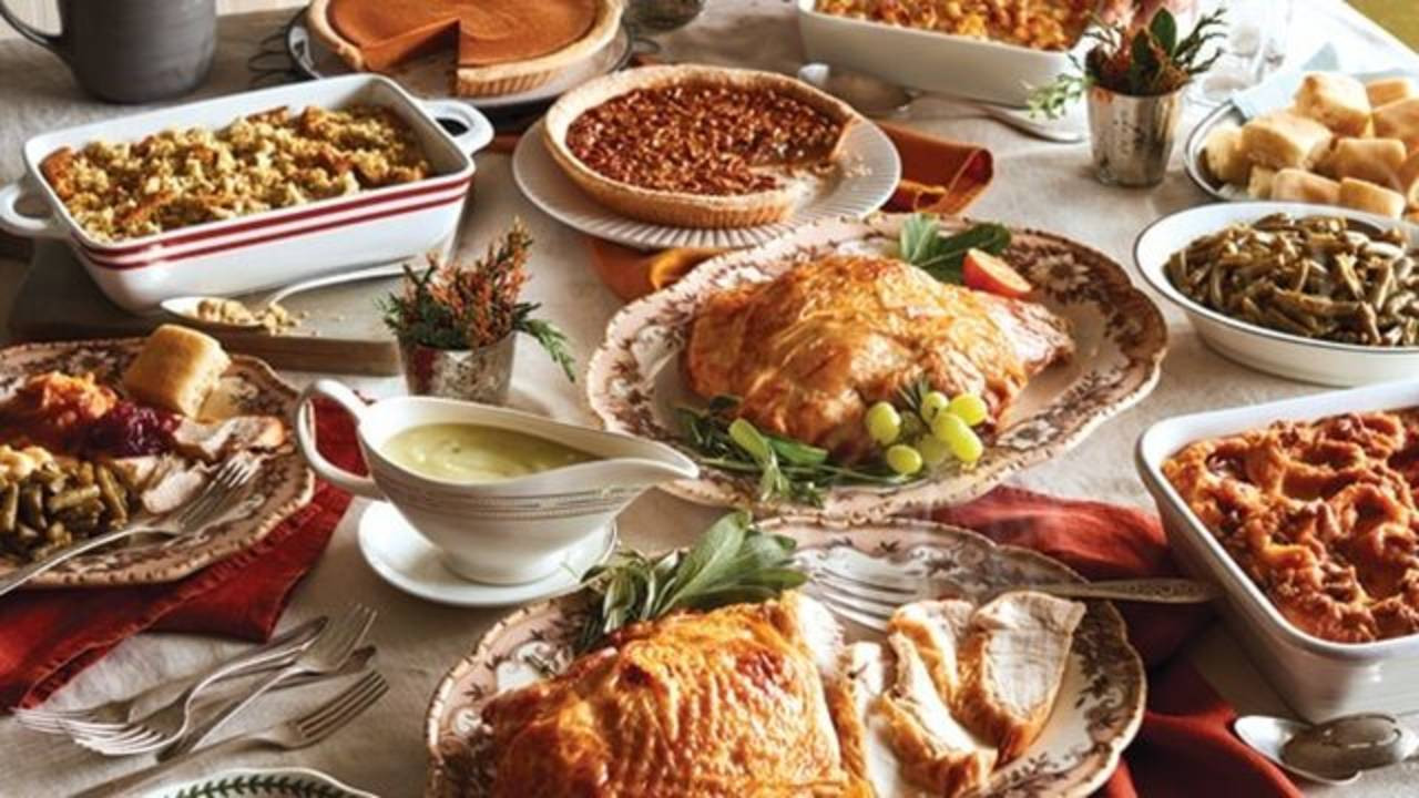 Cracker Barrel Thanksgiving Dinner  Cracker Barrel is selling a Thanksgiving dinner for $10 per