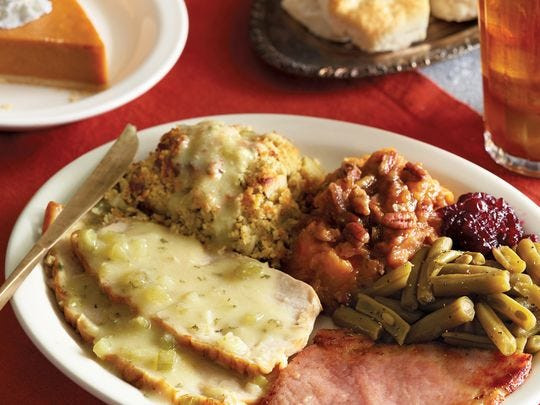 Cracker Barrel Thanksgiving Dinner  27 restaurants for Thanksgiving around Phoenix from