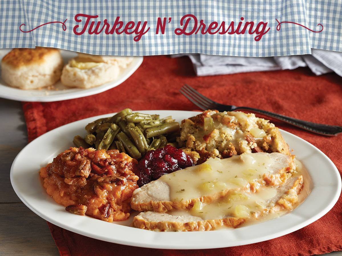 Cracker Barrel Thanksgiving Dinner  Get A Thanksgiving Dinner For $10 At Cracker Barrel