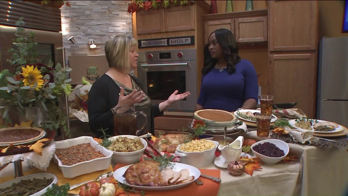 Cracker Barrel Thanksgiving Dinner  Cracker Barrel can prepare your Thanksgiving dinner