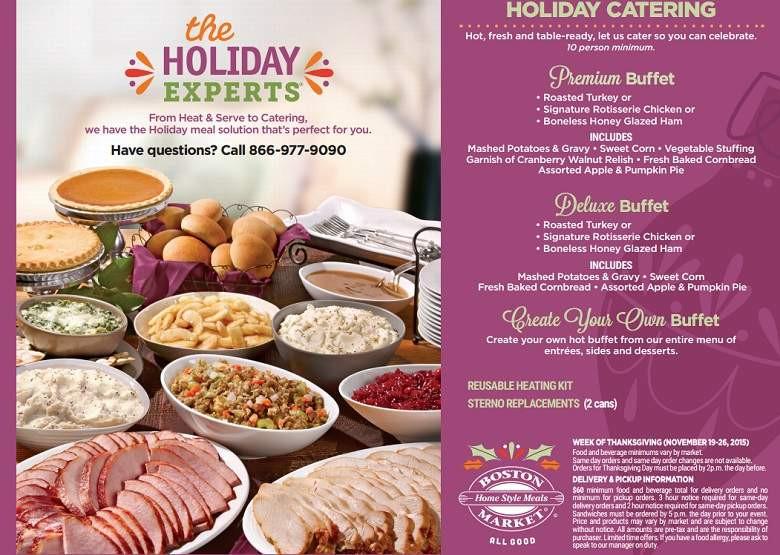 Cracker Barrel Thanksgiving Dinner To Go Price  Boston Market Thanksgiving Dinner Menu 2015 Meal Hours