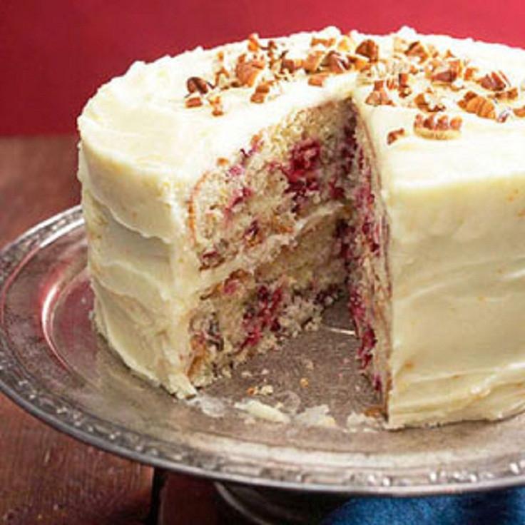Cranberry Christmas Cake Recipe  Top 10 Cranberry Cake Recipes for Christmas Top Inspired