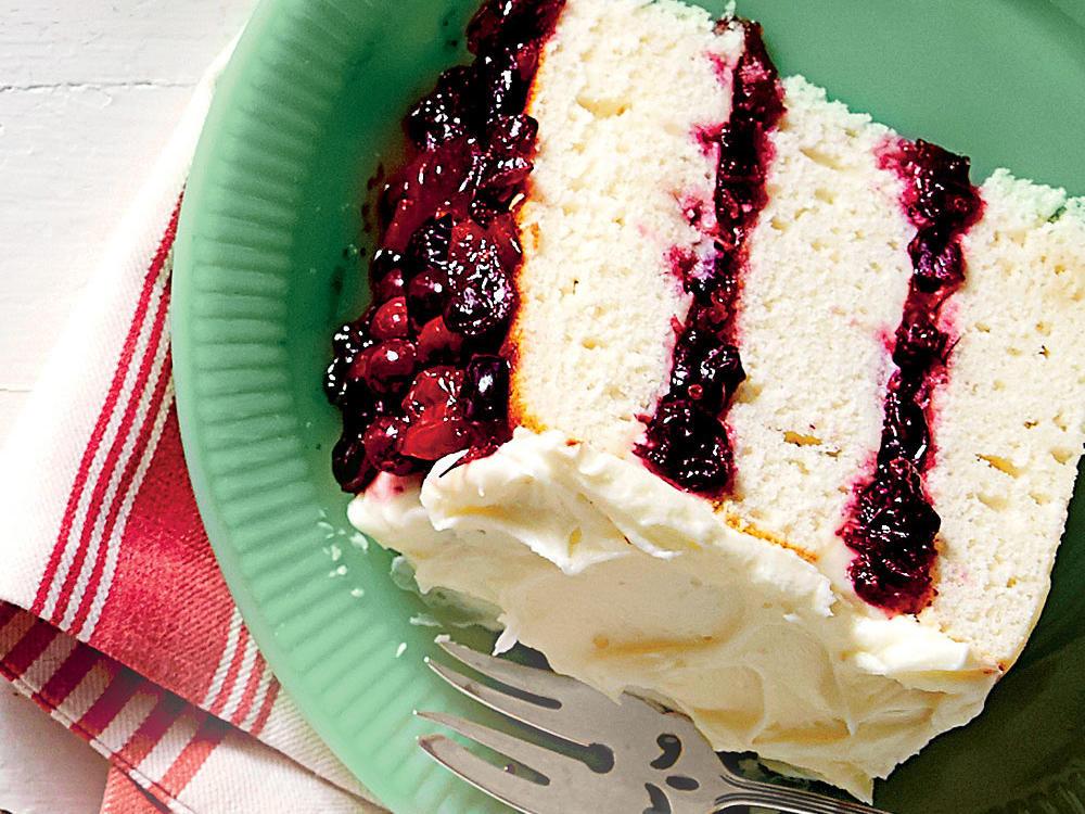 Cranberry Christmas Cake Recipe  Christmas Cake Ideas & Recipes