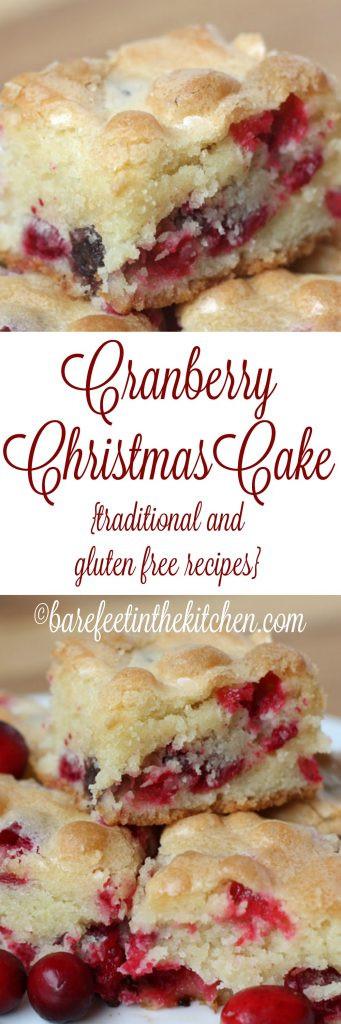 Cranberry Christmas Cake Recipe  Cranberry Christmas Cake