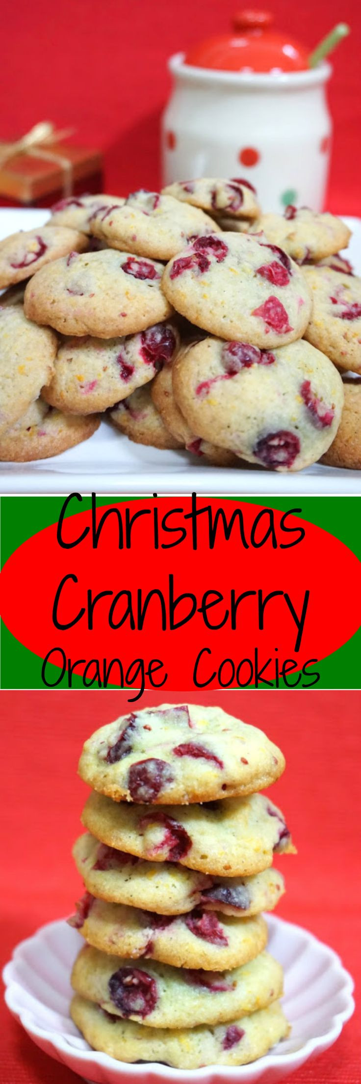 Cranberry Christmas Cookies  Fresh Cranberry Orange Cookies for Christmas Celebrate