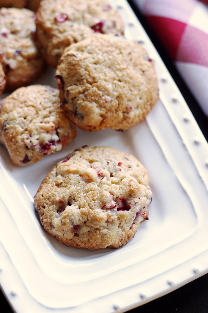 Cranberry Christmas Cookies  Cranberry Christmas Cookies Life As Mom