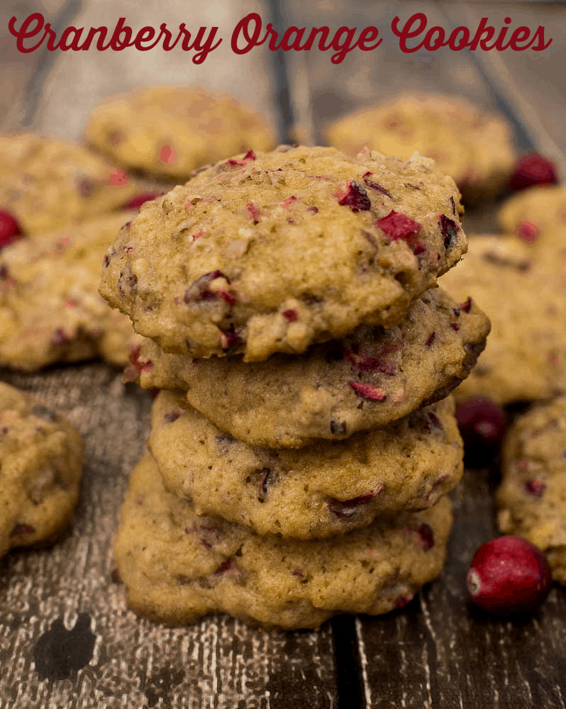 Cranberry Christmas Cookies  Cranberry Orange Cookies Upstate Ramblings