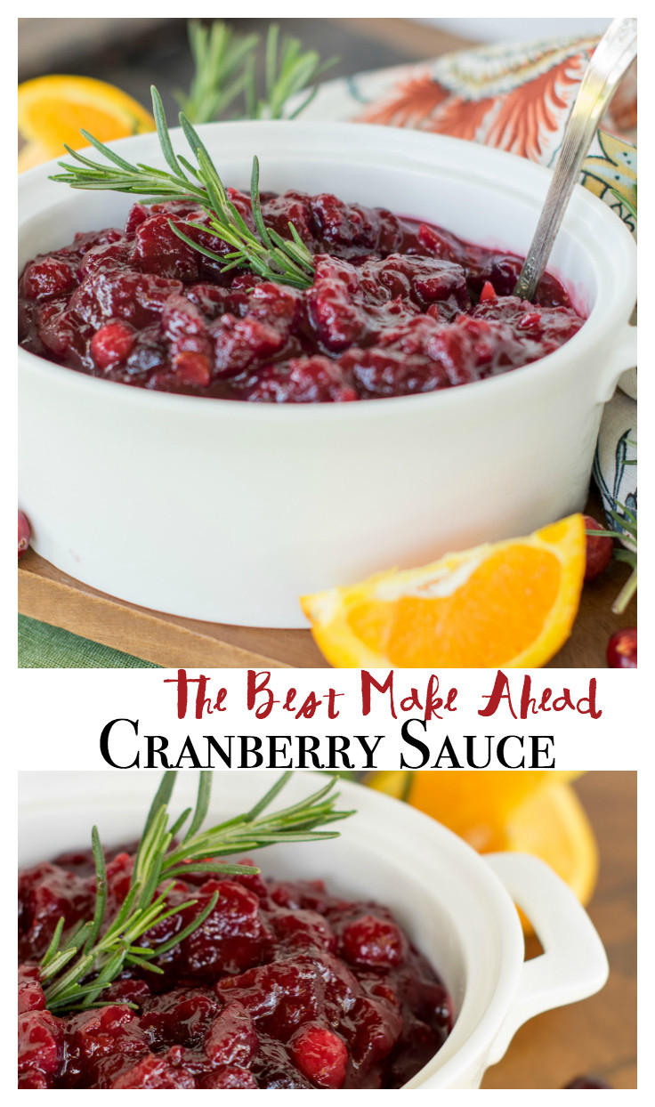 Cranberry Sauce Recipes For Thanksgiving  The Best Cranberry Sauce Ever Quick Easy and Make Ahead