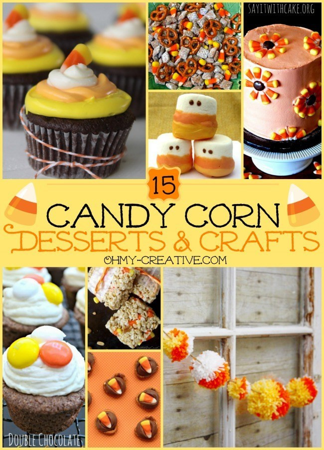 Creative Halloween Desserts  15 Candy Corn Desserts & Crafts Oh My Creative