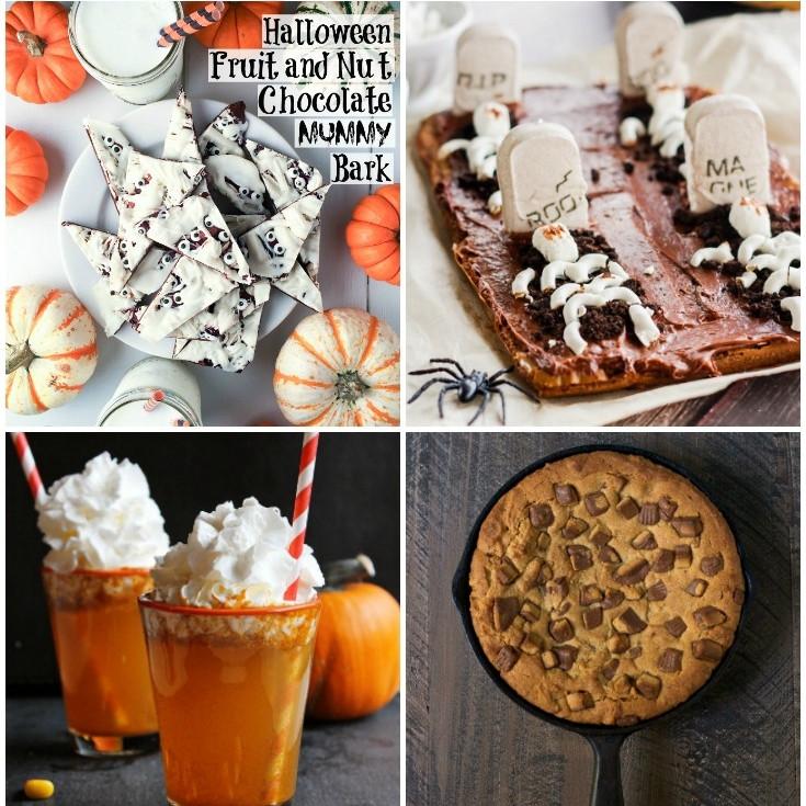 Creative Halloween Desserts  5 creative DIY halloween treats — Home & Plate Easy