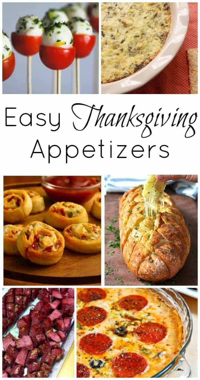 Creative Thanksgiving Appetizers  Thanksgiving Course 1 Easy Thanksgiving Appetizers