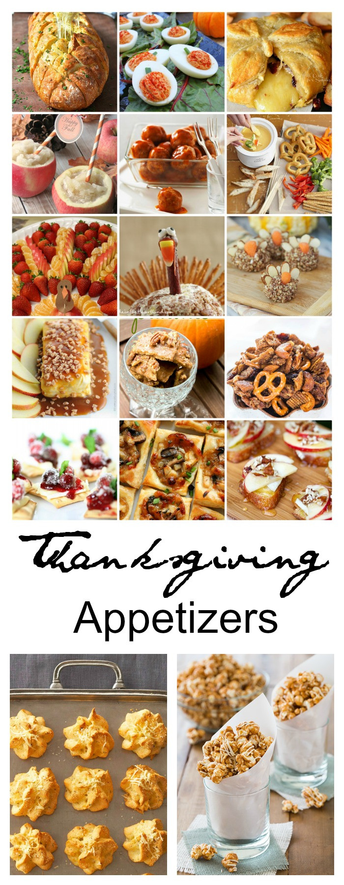 Creative Thanksgiving Appetizers  Thanksgiving Appetizers The Idea Room
