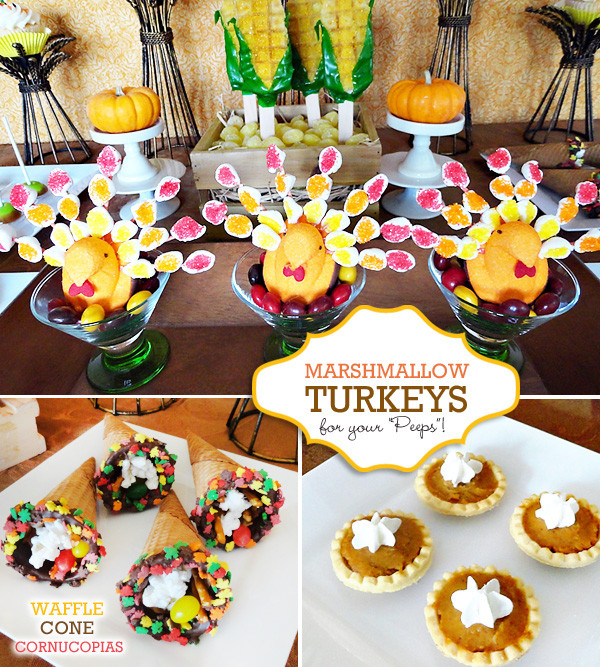 Creative Thanksgiving Dessert  Cute & Clever Thanksgiving Treat Table Hostess with the