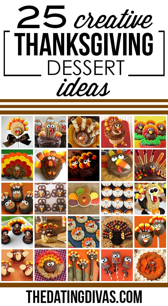 Creative Thanksgiving Dessert  50 Fun Thanksgiving Food Ideas & Turkey Treats The