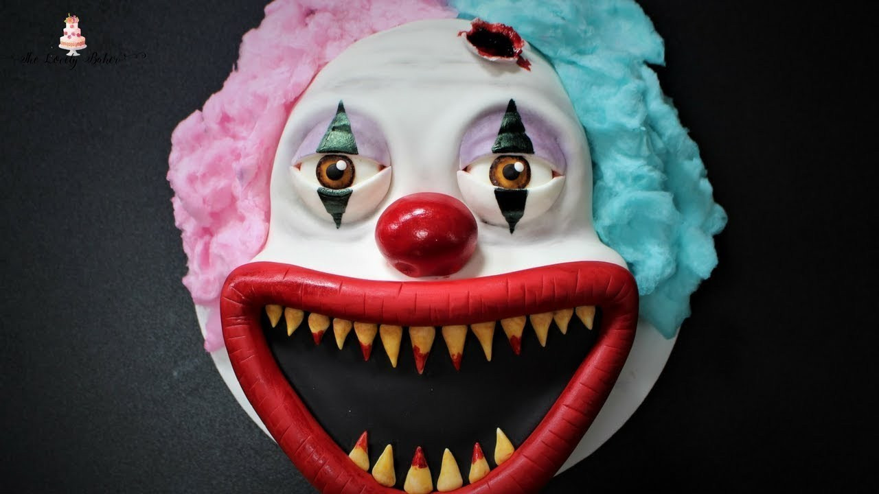 Creepy Halloween Cakes  Halloween Cakes Scary King Tumblr