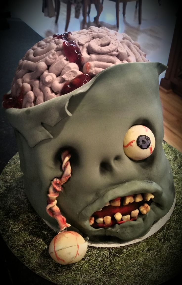 Creepy Halloween Cakes  Best 25 Scary cakes ideas on Pinterest