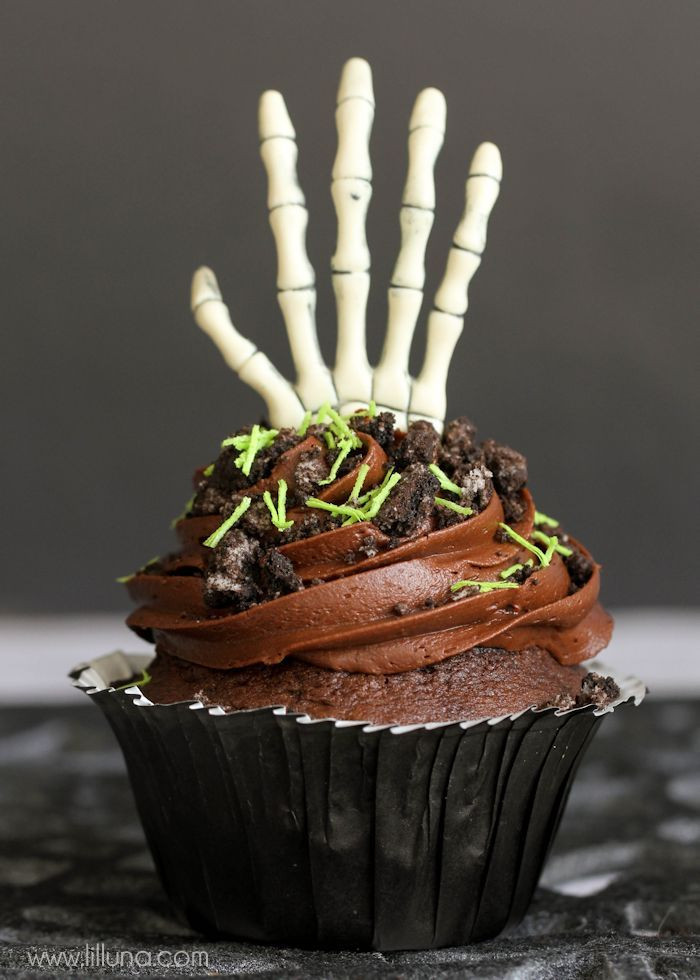Creepy Halloween Cupcakes  Creepy Cupcakes