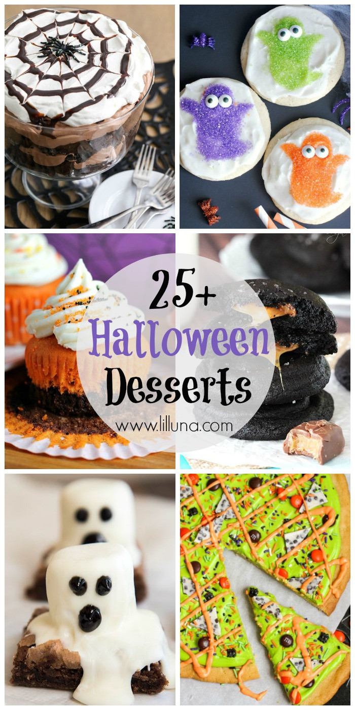 Creepy Halloween Desserts  25 Halloween Desserts Lil Luna