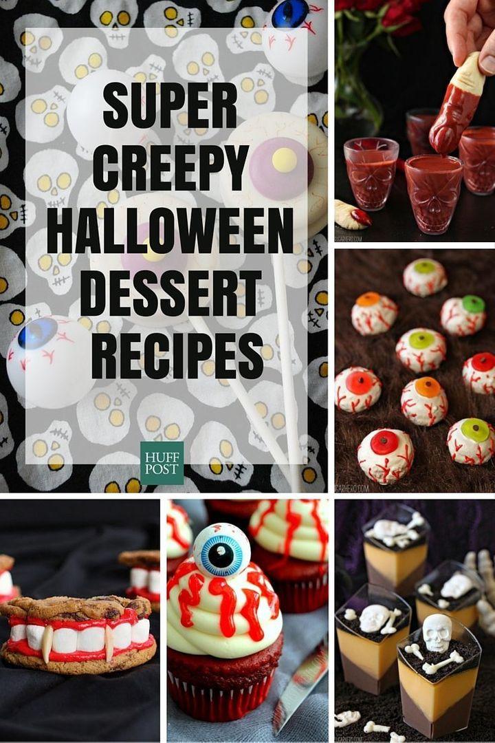 Creepy Halloween Desserts  The Creepiest Scariest Dessert Recipes Your Halloween