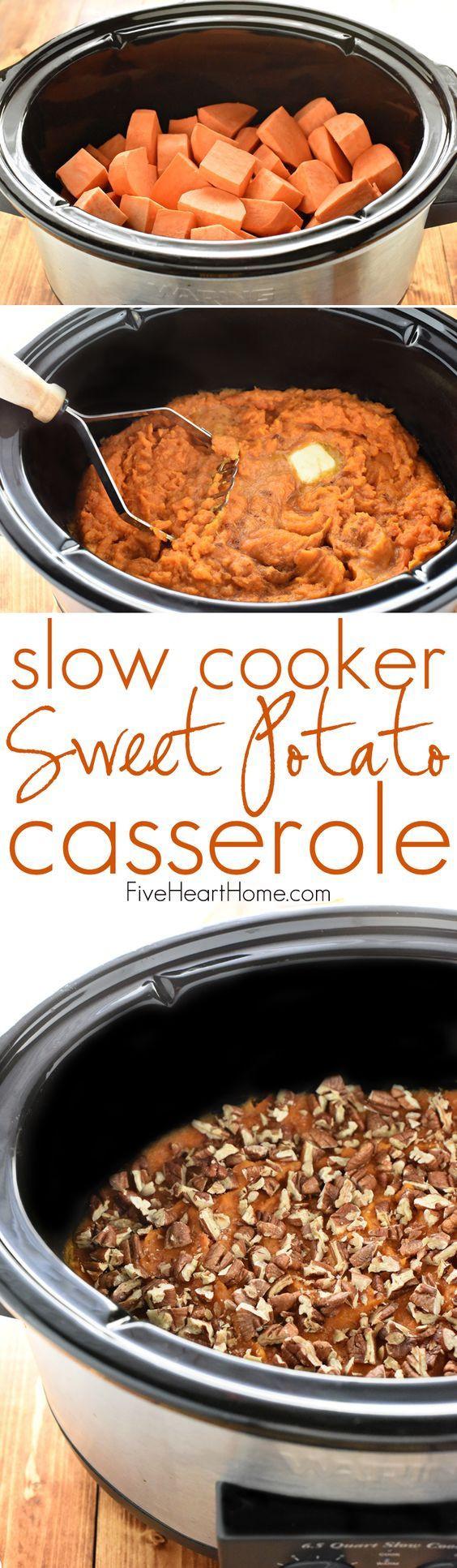 Crock Pot Thanksgiving Side Dishes  17 Best ideas about Thanksgiving Side Dishes on Pinterest