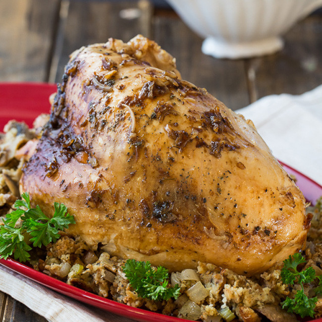 Crock Pot Thanksgiving Turkey  15 Southern Thanksgiving Recipes My Life and Kids