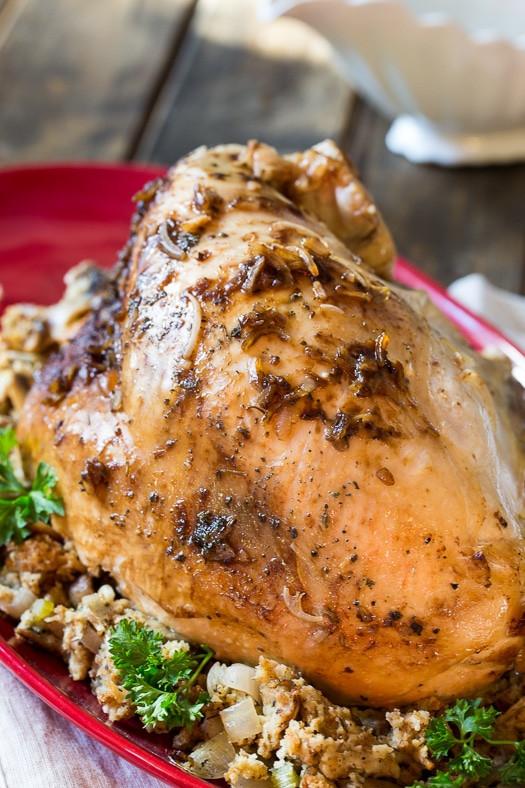 Crock Pot Turkey Recipes For Thanksgiving  Crock Pot Turkey Breast Spicy Southern Kitchen
