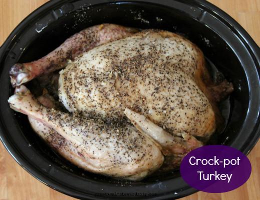 Crock Pot Turkey Recipes For Thanksgiving  Easy Crock Pot Turkey Practical Stewardship
