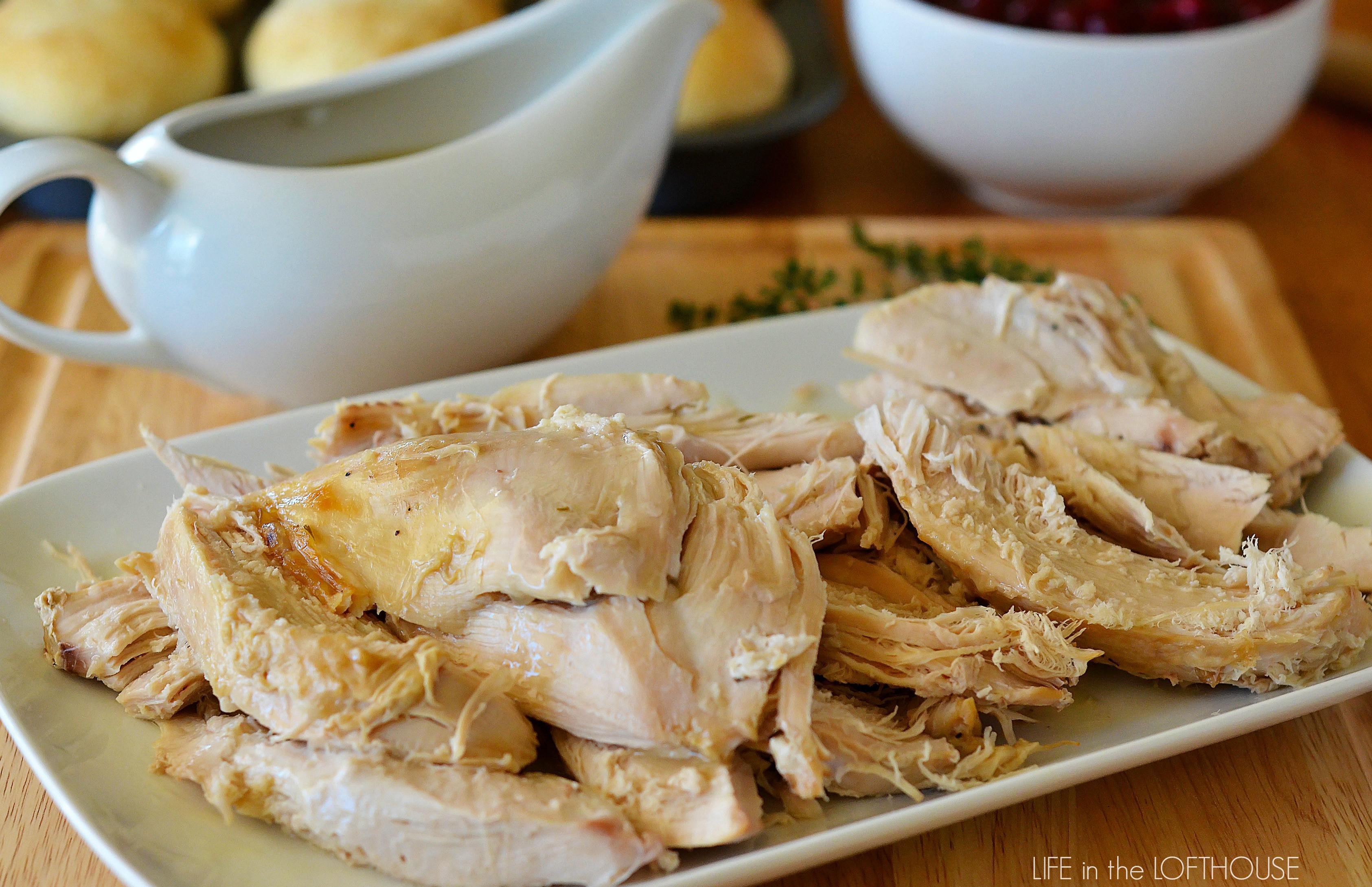 Crock Pot Turkey Recipes For Thanksgiving  Crock Pot Turkey and Gravy Life In The Lofthouse