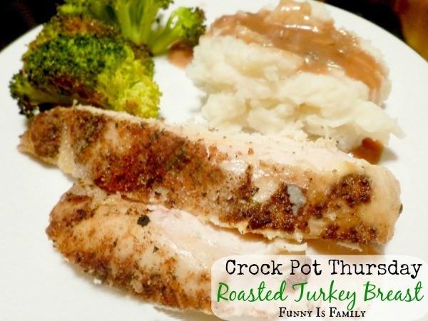 Crock Pot Turkey Recipes For Thanksgiving  Crock Pot Roasted Turkey Breast