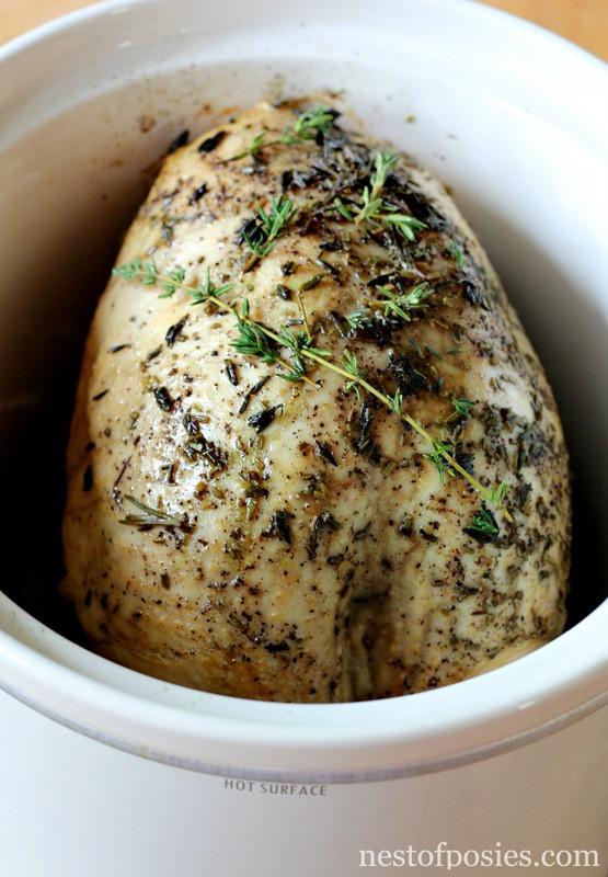 Crock Pot Turkey Recipes For Thanksgiving  Slow Cooker Turkey Breast