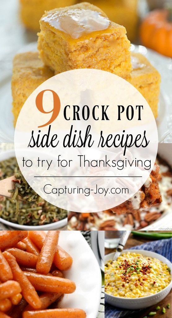 Crockpot Side Dishes For Thanksgiving  9 Thanksgiving Crockpot Recipes for Delicious Thanksgiving
