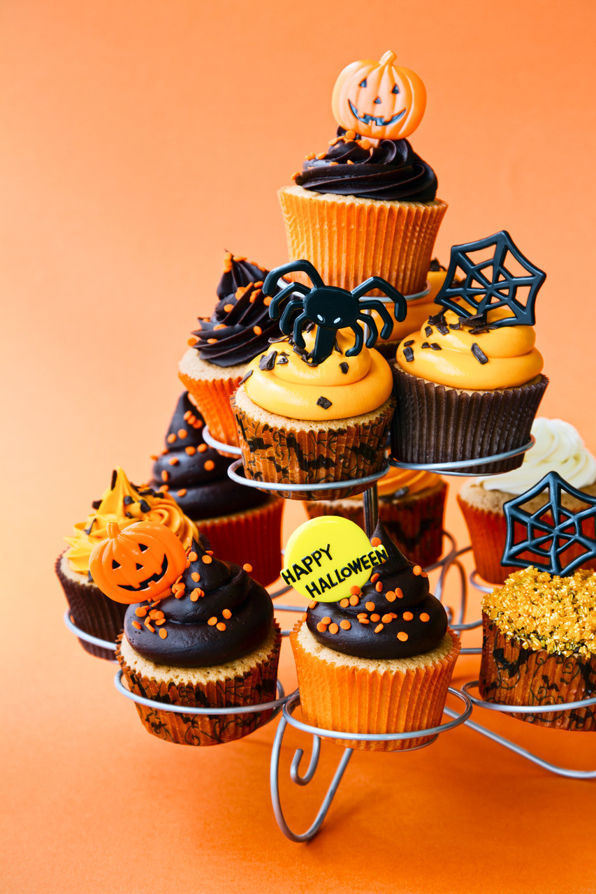 Cupcakes For Halloween  Halloween Cupcake Ideas