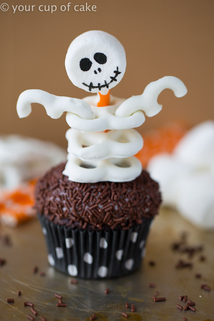 Cupcakes For Halloween  Cute and Easy Frankenstein Cupcakes Your Cup of Cake